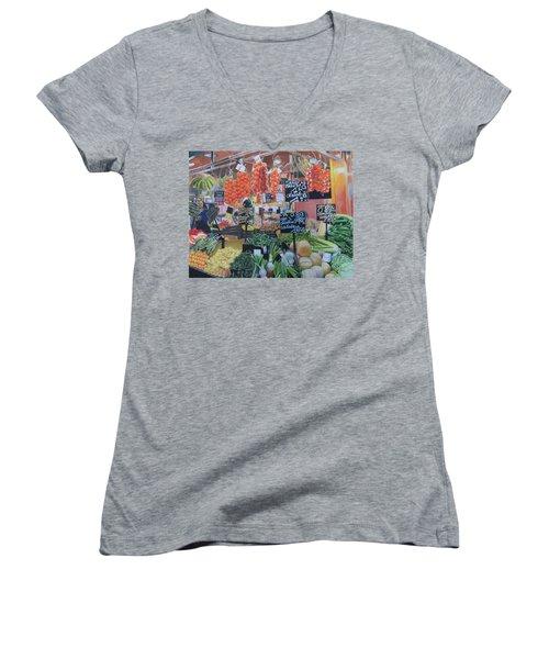 Cornucopia Women's V-Neck T-Shirt