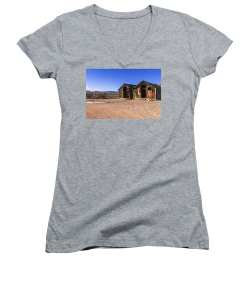 Death Valley Women's V-Neck (Athletic Fit)