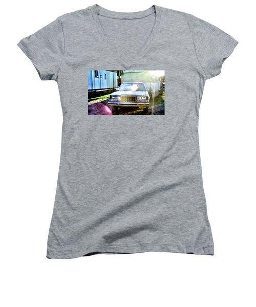 Let's Rock Women's V-Neck T-Shirt
