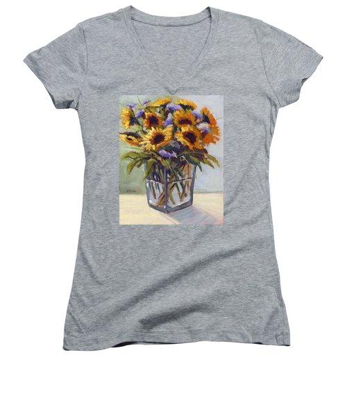 Summer Bouquet 4 Women's V-Neck