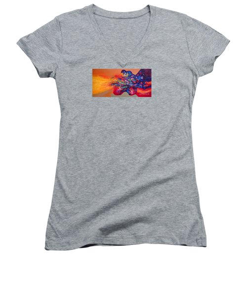 Morning Glory Sold Out Women's V-Neck T-Shirt