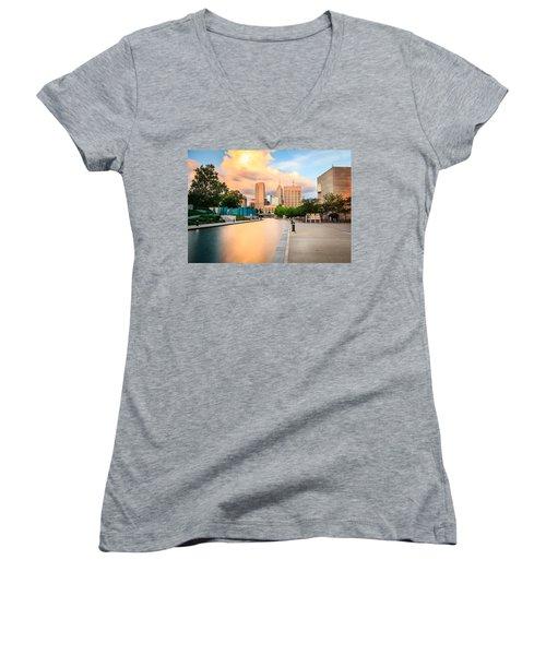 Indianapolis Women's V-Neck T-Shirt
