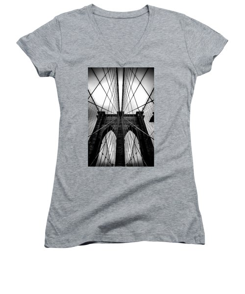A Brooklyn Perspective Women's V-Neck