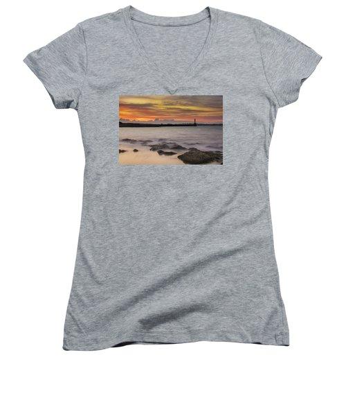 A Far Away City Women's V-Neck T-Shirt