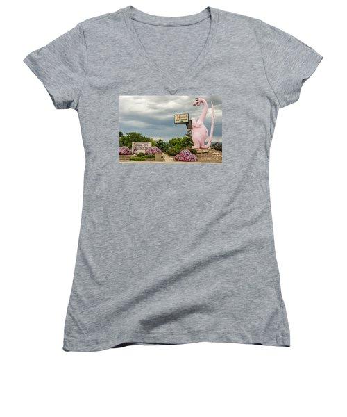 A Fun Welcome To Vernal Women's V-Neck T-Shirt