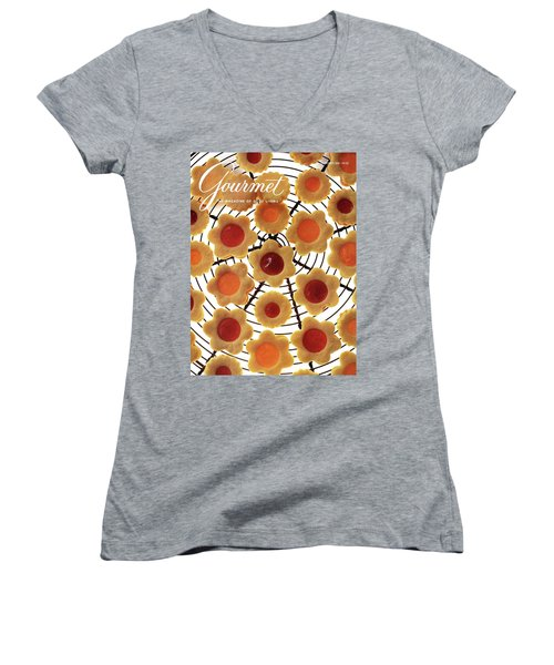 A Gourmet Cover Of Sunny Savaroffs Cookies Women's V-Neck