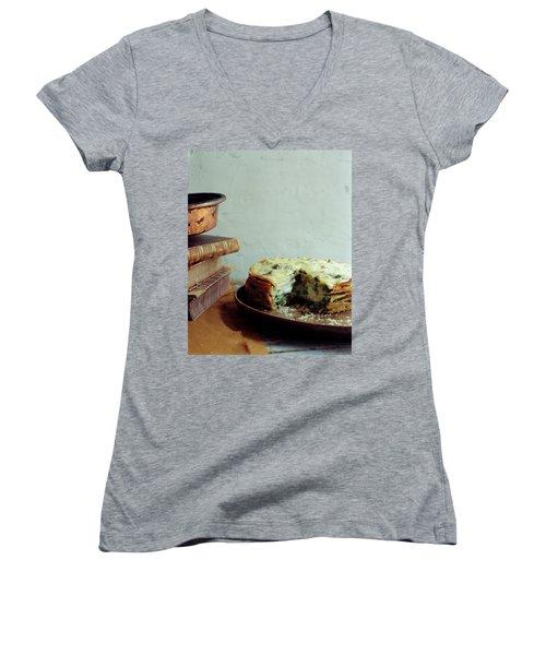 A Gourmet Torte Women's V-Neck T-Shirt