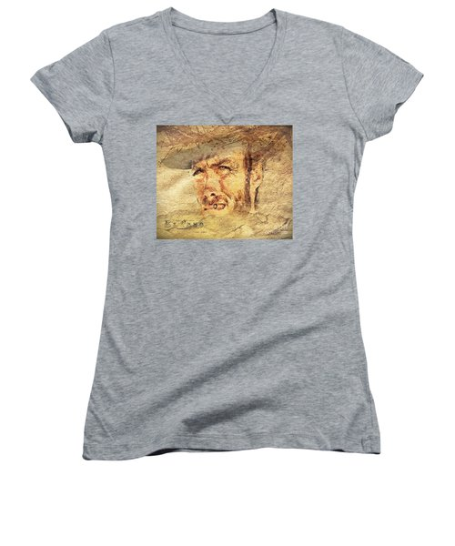 A Man With No Name Women's V-Neck