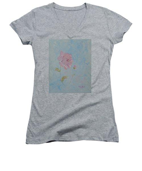 A Mother's Love Women's V-Neck T-Shirt