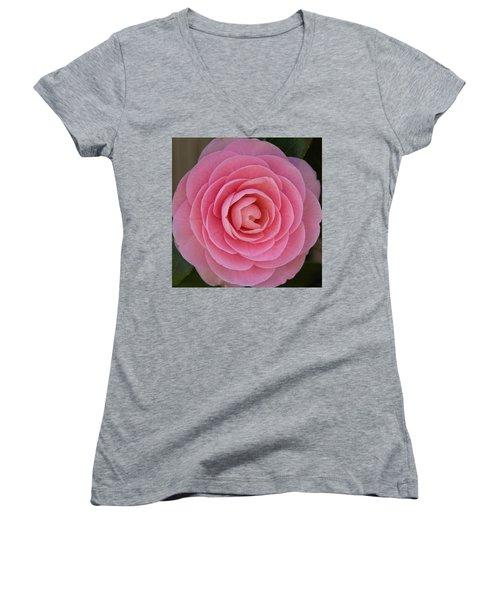 A Soft Blush Women's V-Neck