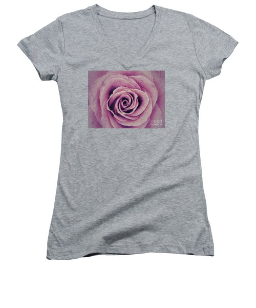 A Sugared Rose Women's V-Neck T-Shirt
