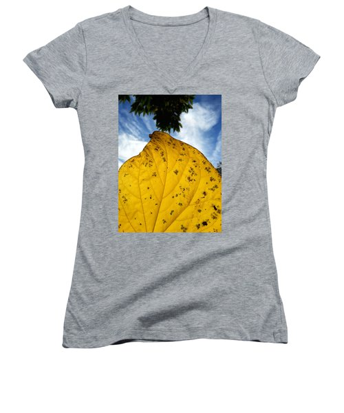 A Touch Of God Women's V-Neck T-Shirt