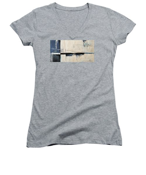 Ab07us Women's V-Neck T-Shirt (Junior Cut) by Emerico Imre Toth