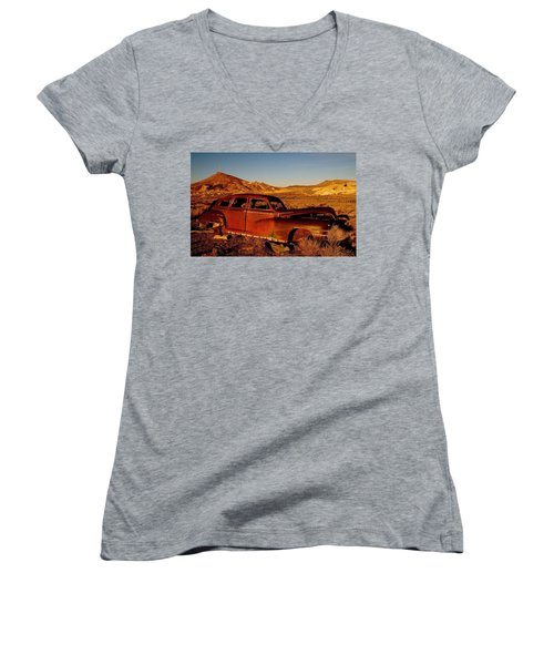 Abandoned And Forgotten Women's V-Neck T-Shirt