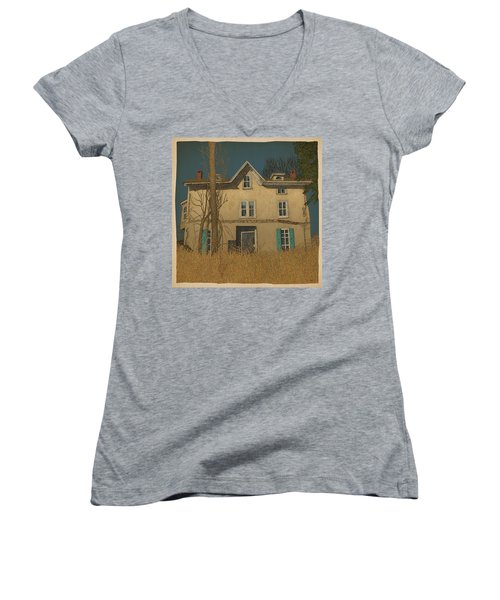 Abandoned Women's V-Neck T-Shirt