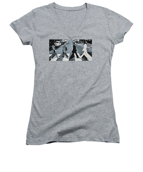 Abbey Road 2013 Women's V-Neck T-Shirt