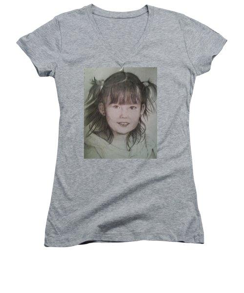 Abigail  Women's V-Neck T-Shirt