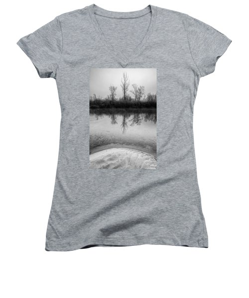 Across The Water Women's V-Neck T-Shirt