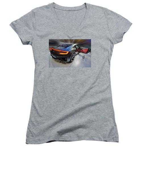 Acura N S X  Concept 2013 Women's V-Neck