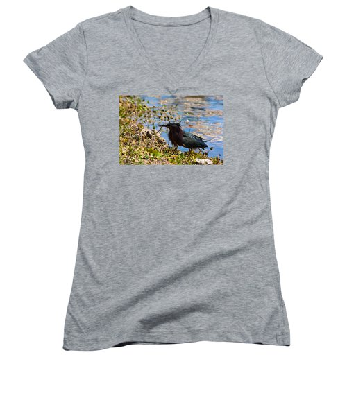 After Fishing Women's V-Neck T-Shirt
