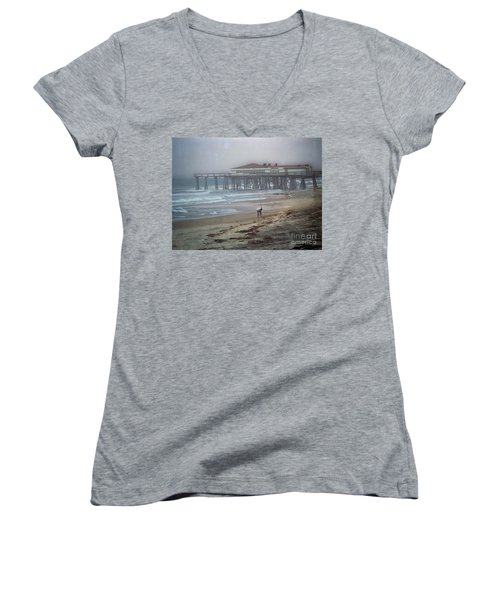 After The Hurricane Women's V-Neck