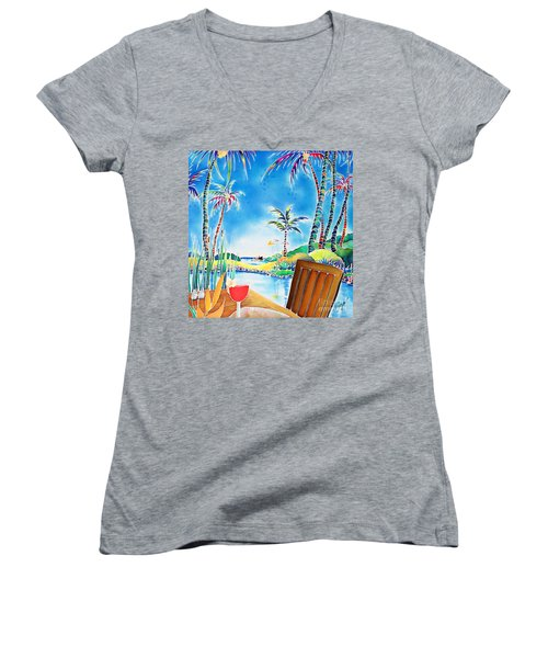 After The Squall Women's V-Neck