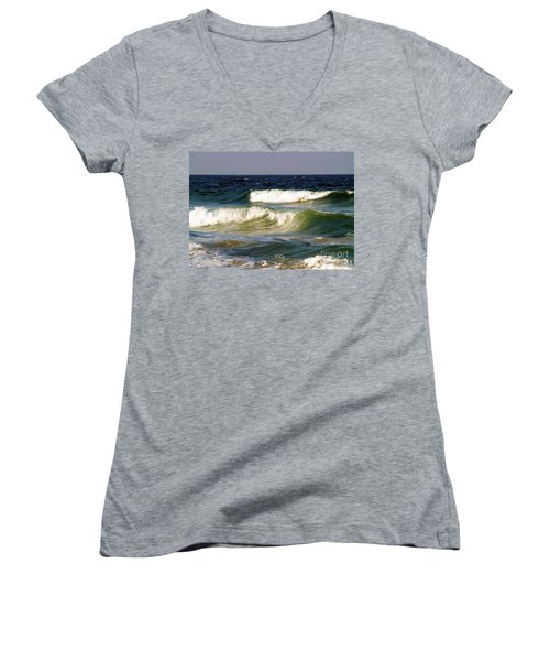 Aftermath Of A Storm Women's V-Neck