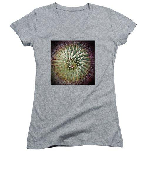Agave Spikes Women's V-Neck T-Shirt