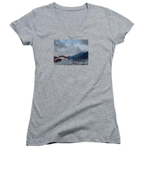 Airyhill Women's V-Neck T-Shirt