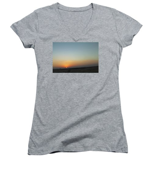 Al Ain Desert 2 Women's V-Neck T-Shirt