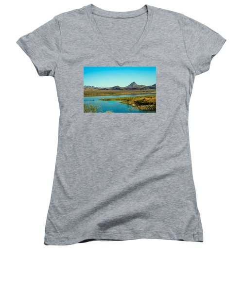 Alamo Lake Women's V-Neck T-Shirt