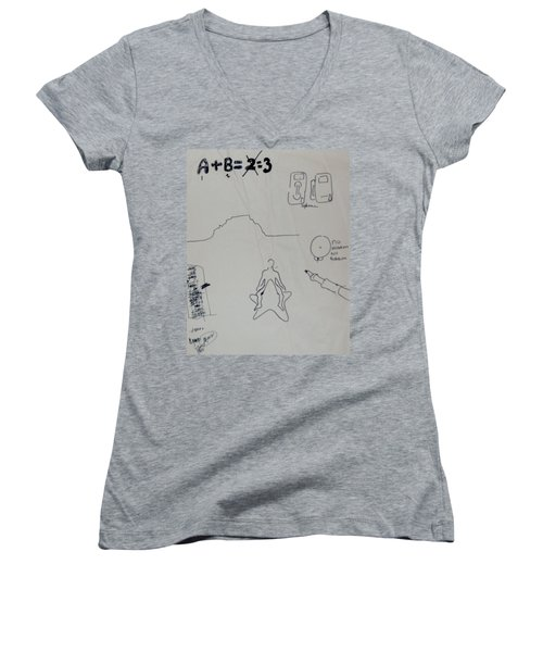 Algebra Women's V-Neck T-Shirt