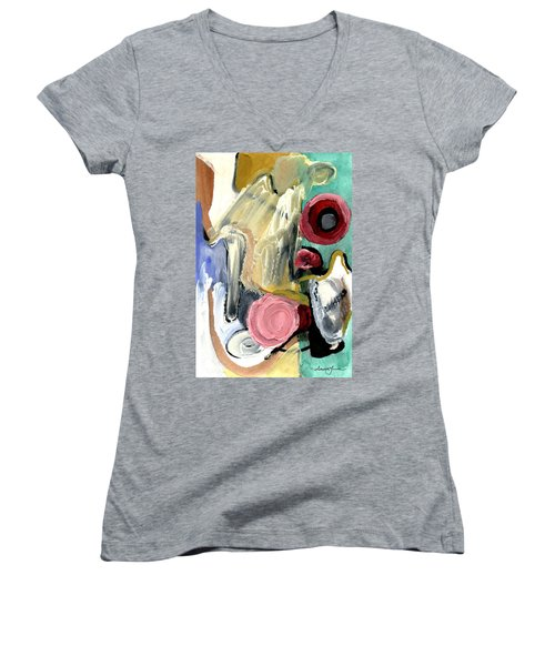 American Beauty Women's V-Neck T-Shirt (Junior Cut) by Stephen Lucas