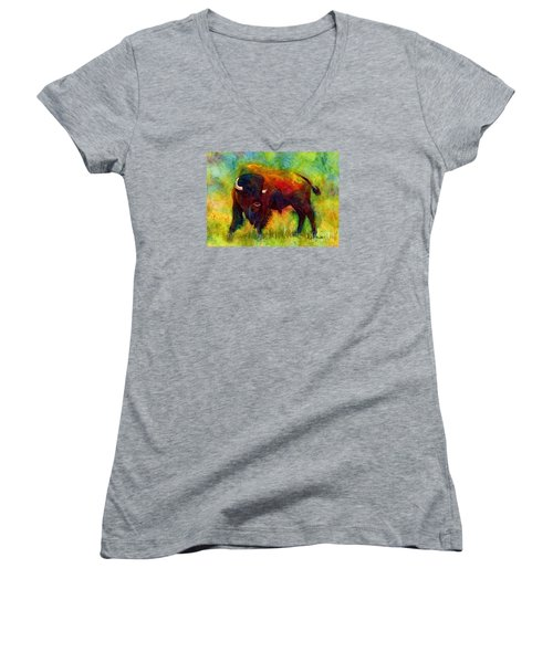 American Buffalo Women's V-Neck