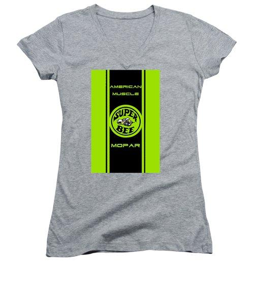 American Muscle - Mopar Women's V-Neck T-Shirt
