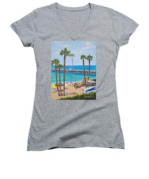 Perfect Beach Day Women's V-Neck