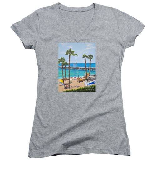 Perfect Beach Day Women's V-Neck