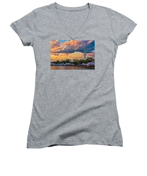 An Evening In Dc Women's V-Neck
