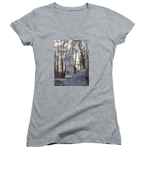 Angels Are Everywhere Women's V-Neck T-Shirt