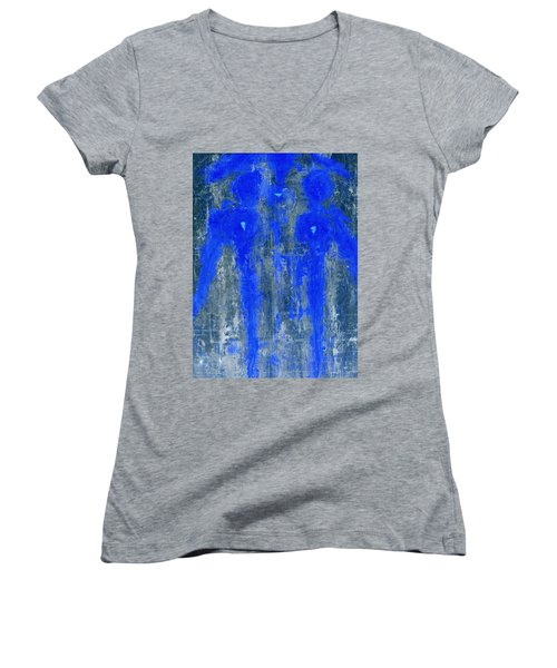 Angels I Have Seen II Women's V-Neck