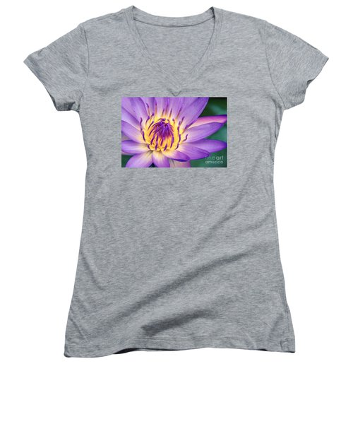 Ao Lani Heavenly Light Women's V-Neck T-Shirt