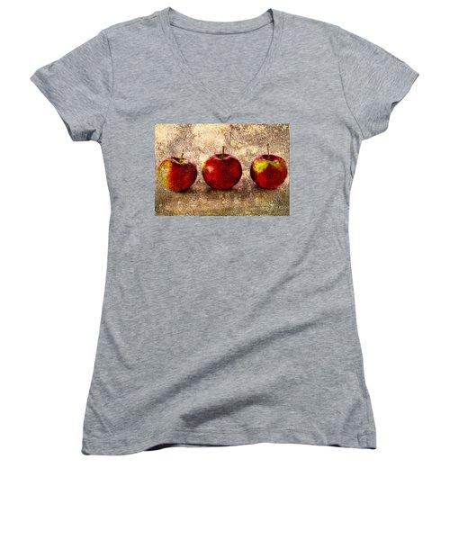 Apple Women's V-Neck