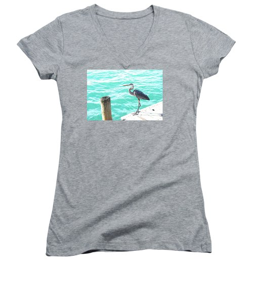 Aqua Bliss Women's V-Neck T-Shirt