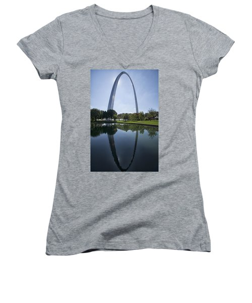 Arch Reflection Women's V-Neck T-Shirt