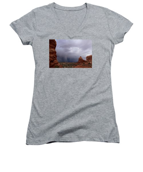 Arches National Monument Moab Women's V-Neck