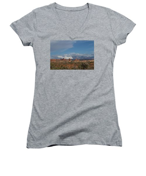 Arches National Monument Utah Women's V-Neck