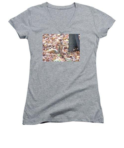 Are You Looking At Me ? Women's V-Neck (Athletic Fit)