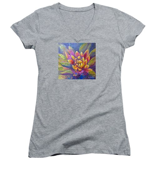 Artichoke Leaves Women's V-Neck