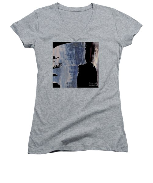 Artotem Iv Women's V-Neck T-Shirt (Junior Cut) by Paul Davenport