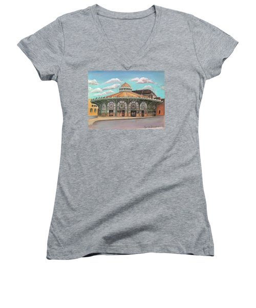 Asbury Park Carousel House Women's V-Neck (Athletic Fit)